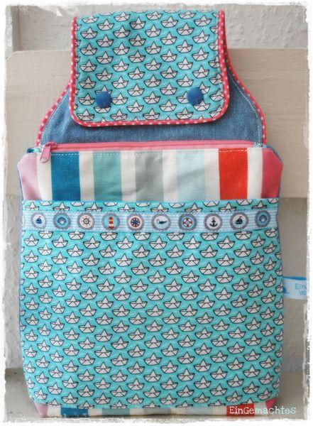 Gürteltasche ♥ Hüfttasche ♥ Ahoi ♥  von EinGemachtes ♥ auf DaWanda.com