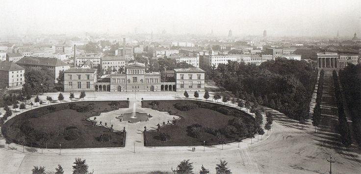 1880 Berlin - Palais Raczynski am Königsplatz, heute steht dort das Reichstagsgebäude (Foto: Hermann Rückwardt)