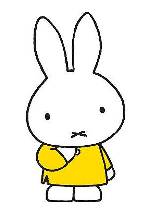"""""""I saw Matisse - and came up with Miffy"""" - Dick Bruna"""