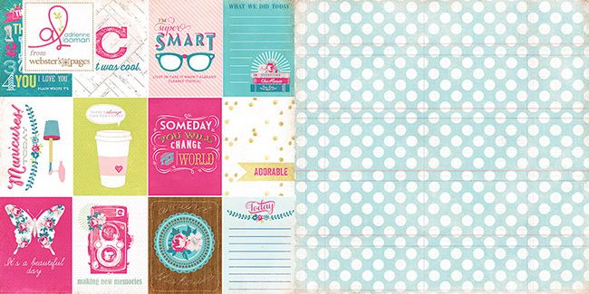 Introducing, Sweet Routine, by Adrienne Looman of Webster's Pages! A gorgeous line designed with the moments that make up each day in mind. In Sweet Routine, the usual and commonplace are celebrated and remembered for the sweet and important place they hold in our lives! This {OH SO SWEET!} collection appeals to the heart and is the perfect way to capture the joy in every moment!