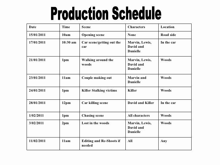 Film Schedule Template Awesome 36 Best Making Production Document Templates Images On Peterainsworth Schedule Template Schedule Templates Templates