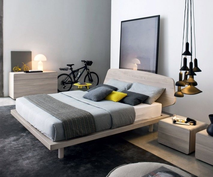 24 best Design Möbel in Holzoptik images on Pinterest Living - modernes bett design trends 2012