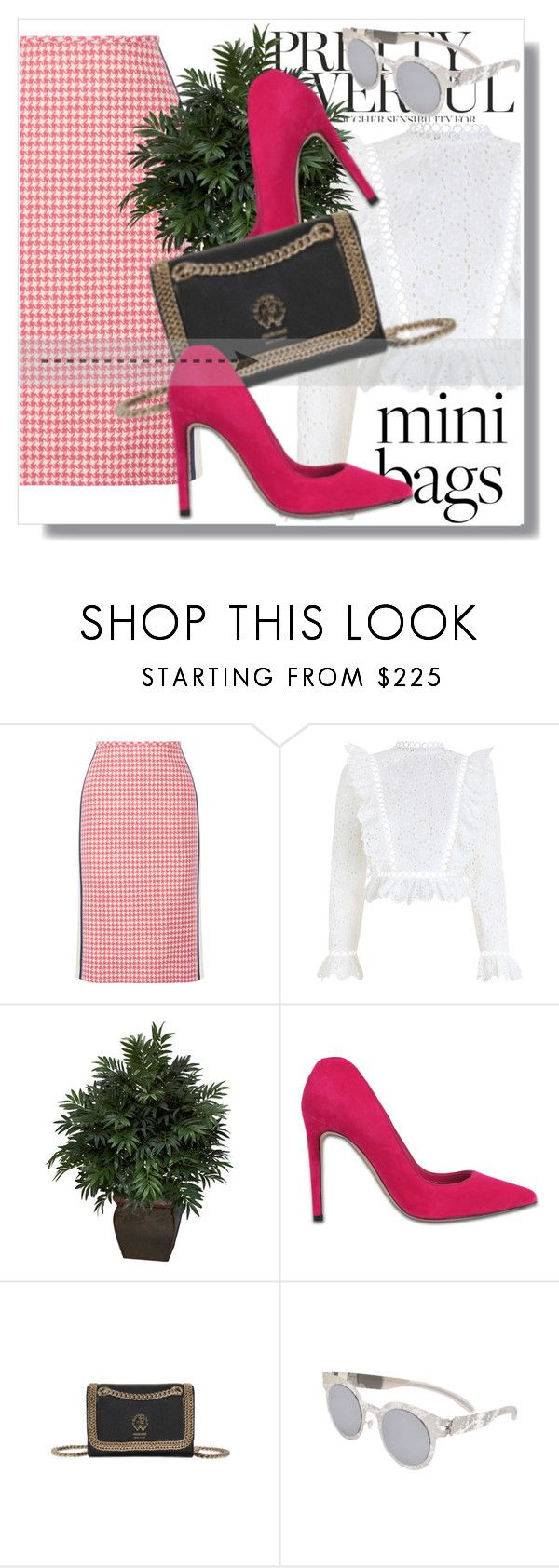 """""""Monnier Freres !!"""" by dianagrigoryan ❤ liked on Polyvore featuring Prada, Zimmermann, Alexander McQueen, Roberto Cavalli and Maison Margiela"""