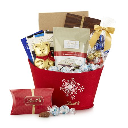 28 best virtual lindt chocolate gift box images on pinterest seasonal delights holiday gift basket lindt chocolate givelindt contest negle Choice Image