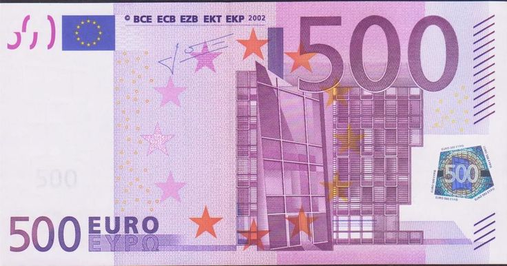 500 EURO BANKNOTE 2002 GERMANY DEUTSCHLAND PERFECT UNC R16786