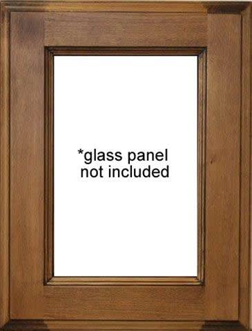 New York Glass Panel Cabinet Door