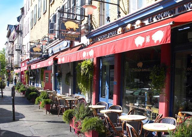Le Cochon Dingue | Vieux-Port (Québec), Québec Restaurant | Cuisine Française & Réconfort | www.RestoQuebec.ca