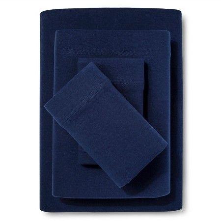 Room Essentials™ Jersey Sheet Set - Solid : Target