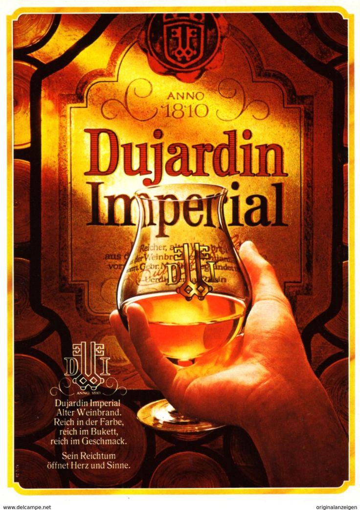 804 besten vintage print ads reklame spirituosen bier for Dujardin imperial