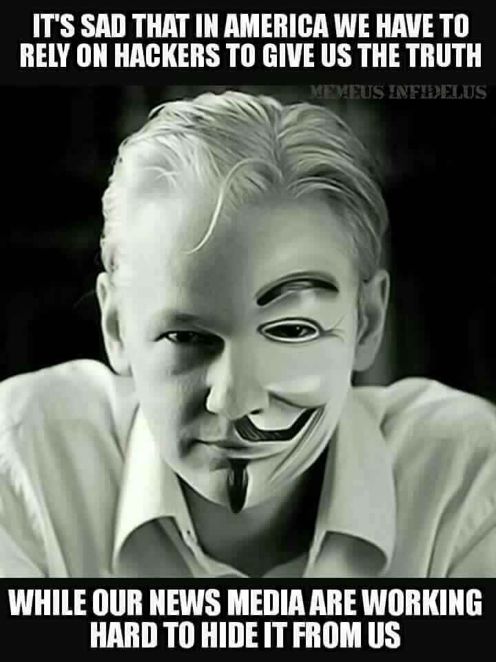 Julian Assange.. Wikileaks's let American's know how manipulative and corrupt the Clinton base really is. Unbelievable