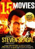 15 Movies: Featuring Steven Seagal and Chuck Norris [3 Discs] [DVD], 1407929