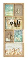 kaiser craft sandy toes collection project 6 Frame Photo Display