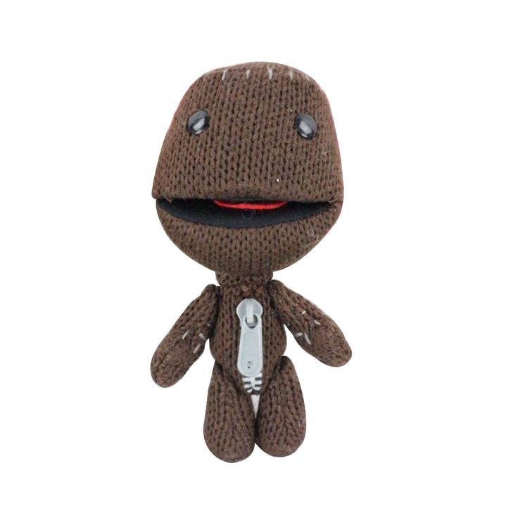 Cheapest 1pc16CM Little Big Planet Plush Toy Sackboy Cuddly Knitted Stuffed Doll  Figure Toys Cute Kids Animal Comfort Doll