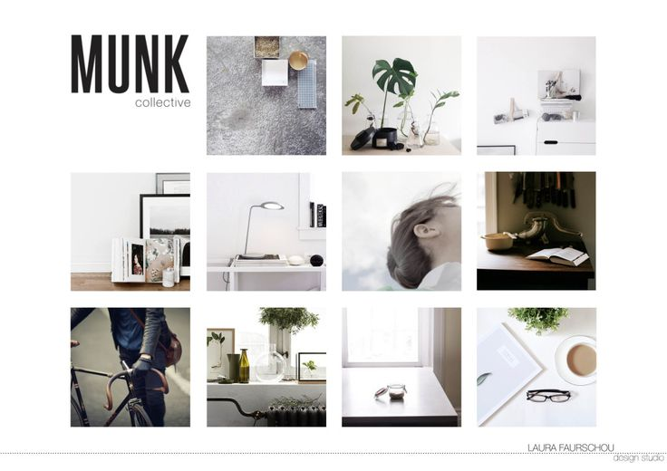 FLIP styling Mood board - Styling by Laura Faurschou design studio, design by Hviid-Damsbo for MUNK Collective