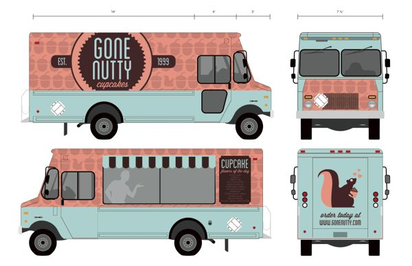 17 best images about food trucks on pinterest denmark for How to design a food truck