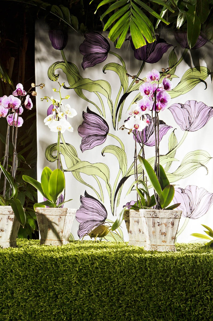 his Vallila's flowery fabric could reinvent as almost anything