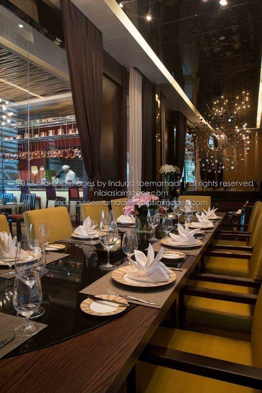 private dining @ la luce wine & dine, jakarta - indonesia