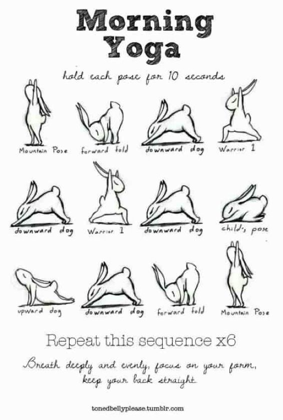 "I""m tellin you !! when I start my day of with this simple Sequence!! I feel ALIVE and READY for Anything!!  ~ SarahJoy"