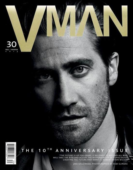 Jake Gyllenhaal for VMAN magazine