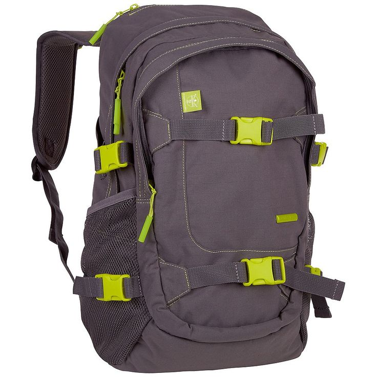 Der kindgerechte Chiemsee Rucksack SCHOOL URBAN SOLID ist ein Rucksack mit Gurt zum Transportieren eines Skateboards, einem großen Hauptfach mit Laptopfach, Netzfächer an beiden Seiten und einem zusätzlichen Spanngurt an beiden Seiten. Die gepolsterten Schultergurten mit integriertem Griff und der abnehmbarer Hüftgurt entlasten die Schultern von direktem Druckempfinden. In den Rucksack passen a...
