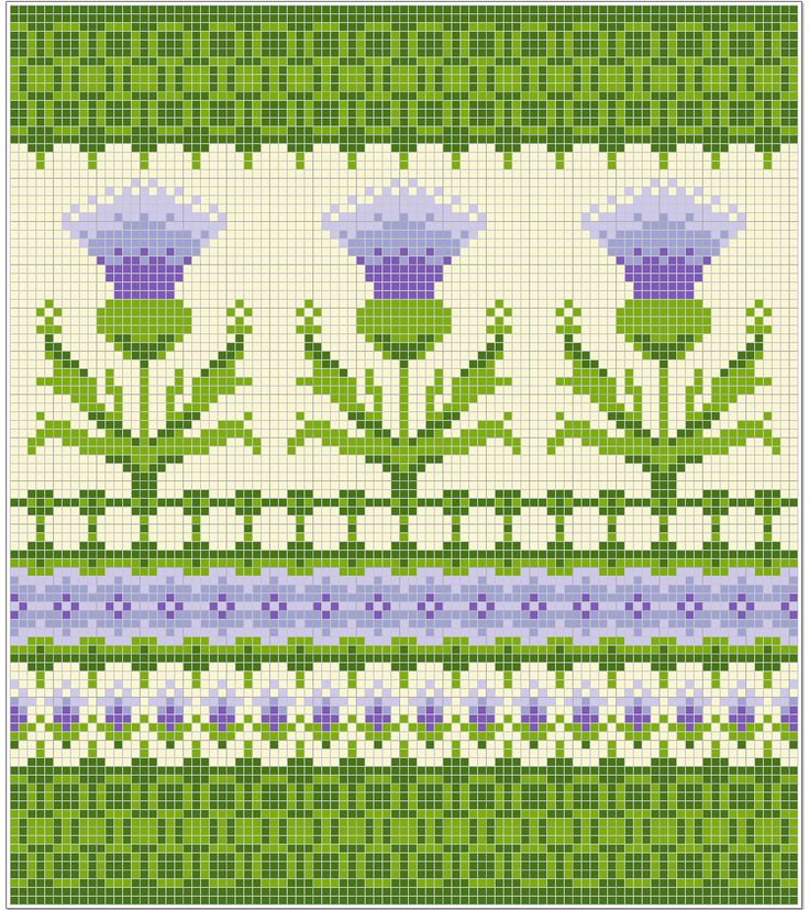 Thistle bag pattern