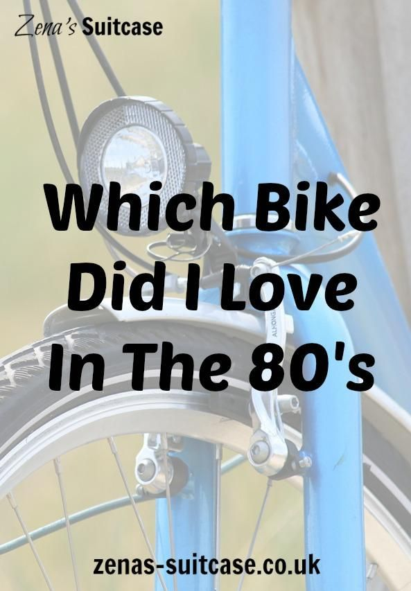 Which Bike Did I Love In The 80's