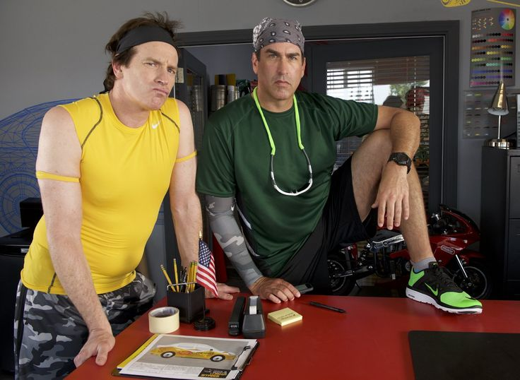 How to be a Latin Lover Rob Huebel and Rob Riggle Image 1 (47)