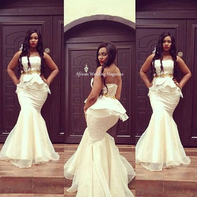 1000 ideas about african wedding dress on pinterest for Simply elegant wedding dresses