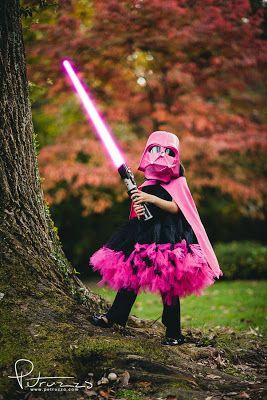 Pink Darth Vader Costume