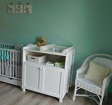 Biała komoda z przewijakiem. Zobacz zdjęcie Zdjecie pokoiku dla niemowlaka nadeslane przez klientke sklepu mamaipapa pl  ...