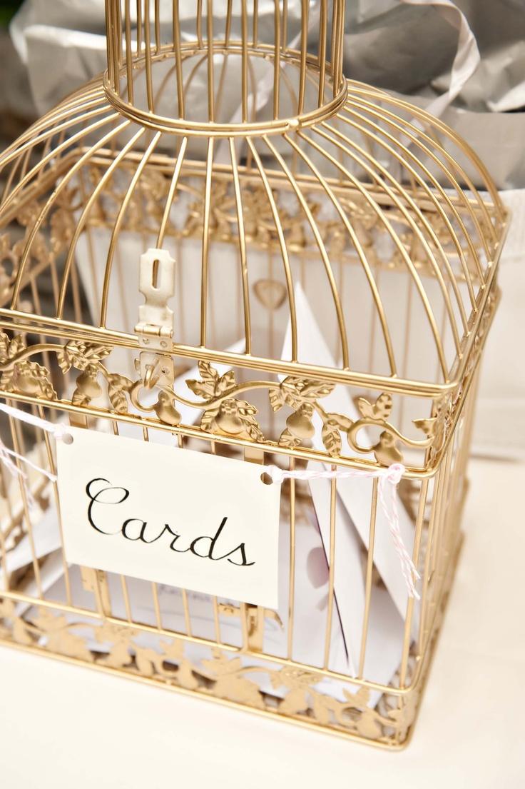 Decorative Birdcage for Cards http://brds.vu/vNQtB0 #weddings