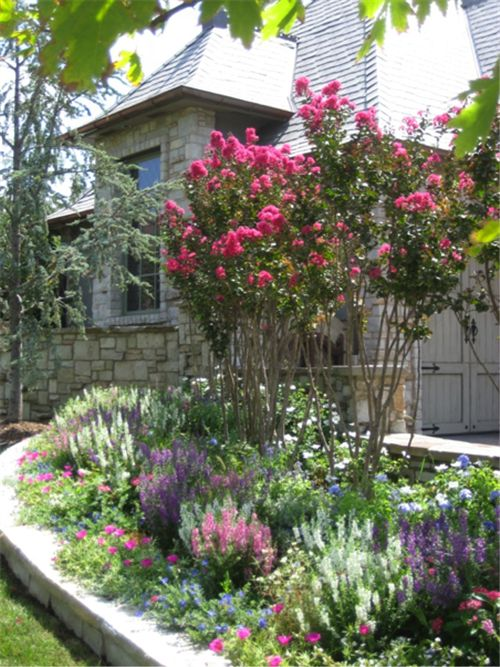 Layering Effect Lots Of Colour Crepe Myrtle Landscaping