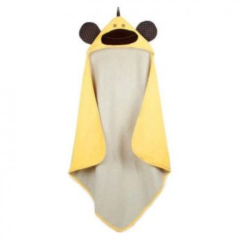 3 Sprouts Hooded Towel - Monkey (Yellow)