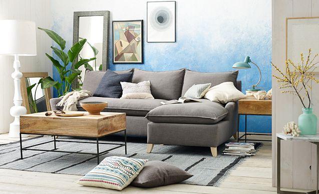 west elm pure bliss living room live pinterest. Black Bedroom Furniture Sets. Home Design Ideas