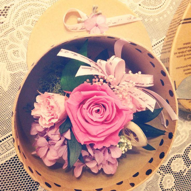 preserved flower arrangement #fleurpium