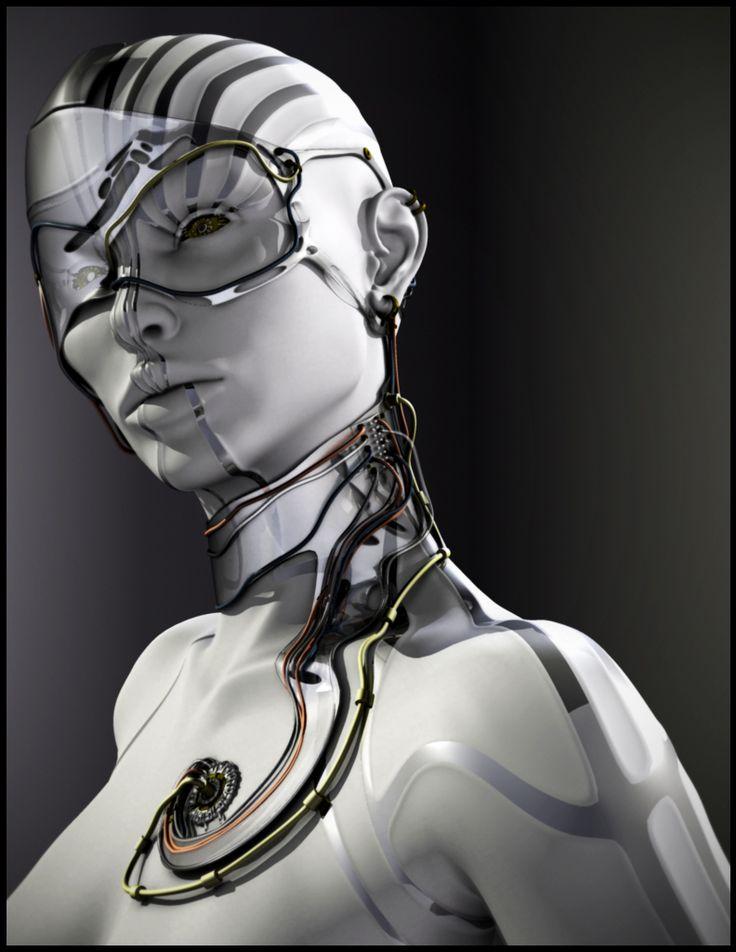 Robots, cities, future, etc. : Photo
