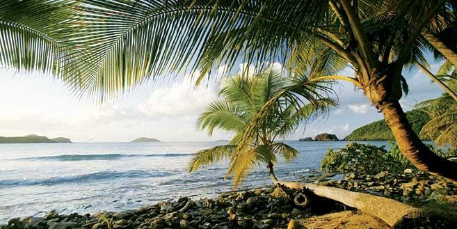 Westernmost of the virgin islands