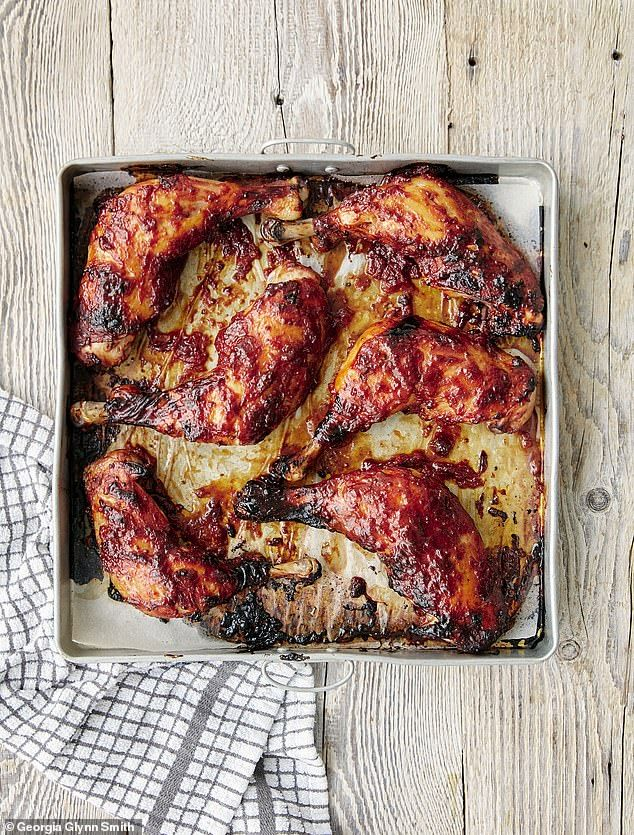 An old favourite of mine and one the family still loves. So easy – just put it in the oven and leave it to do its magic.