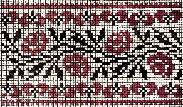 Вышивка бисером схемы орнамента