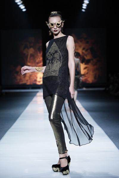 ghea panggabean - dewi fashion knights 2012