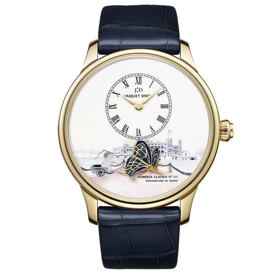 JAQUET DROZ: Petite Heure Minute The Loving Butterfly http://www.orologi.com/cataloghi-orologi/jaquet-droz/index.html?