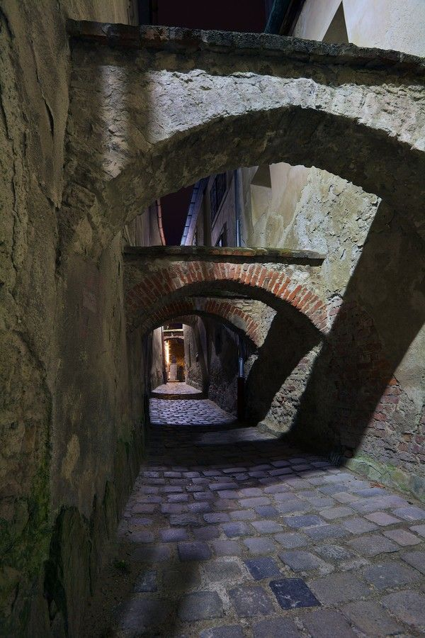 Gateway in Sopron, Hungary