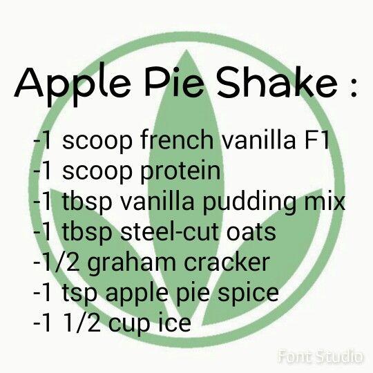 Apple pie Herbalife shake