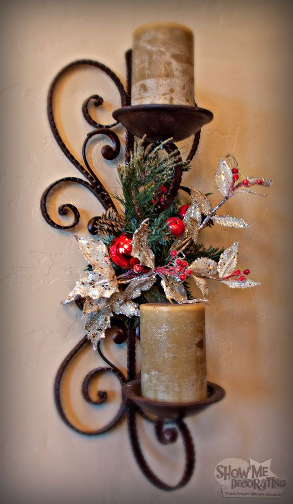 Best Sconce Images On Pinterest Christmas Ideas Christmas