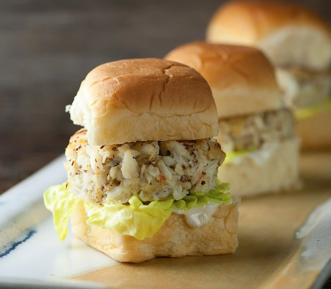 Crab Cake Sliders | Recipe | The o'jays, I am and Goodies