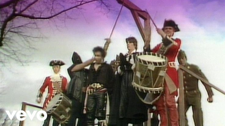 I cranked this - my mom was forever telling me to turn it down    Adam & The Ants - Stand And Deliver