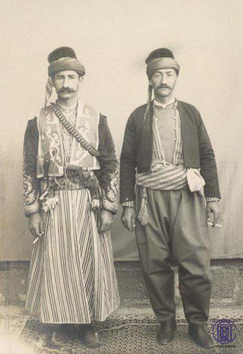 Kurdish men, Urfa, 1900, from http://kurdistania.tumblr.com