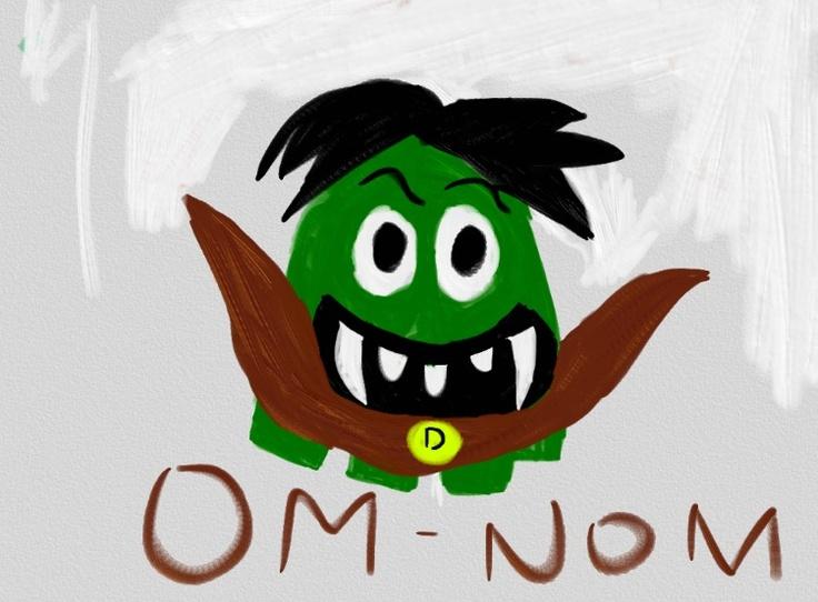 Om-Nom vampiro @rnieblesealo