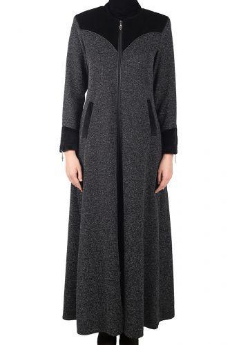 Hicaz Giyim - Kışlık  Ferace Afşar  Ferace