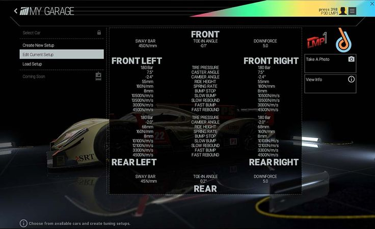 How to setup Formula B and Formula C in Project Cars - https://gamesintrend.com/how-to-setup-formula-b-and-formula-c-in-project-cars/